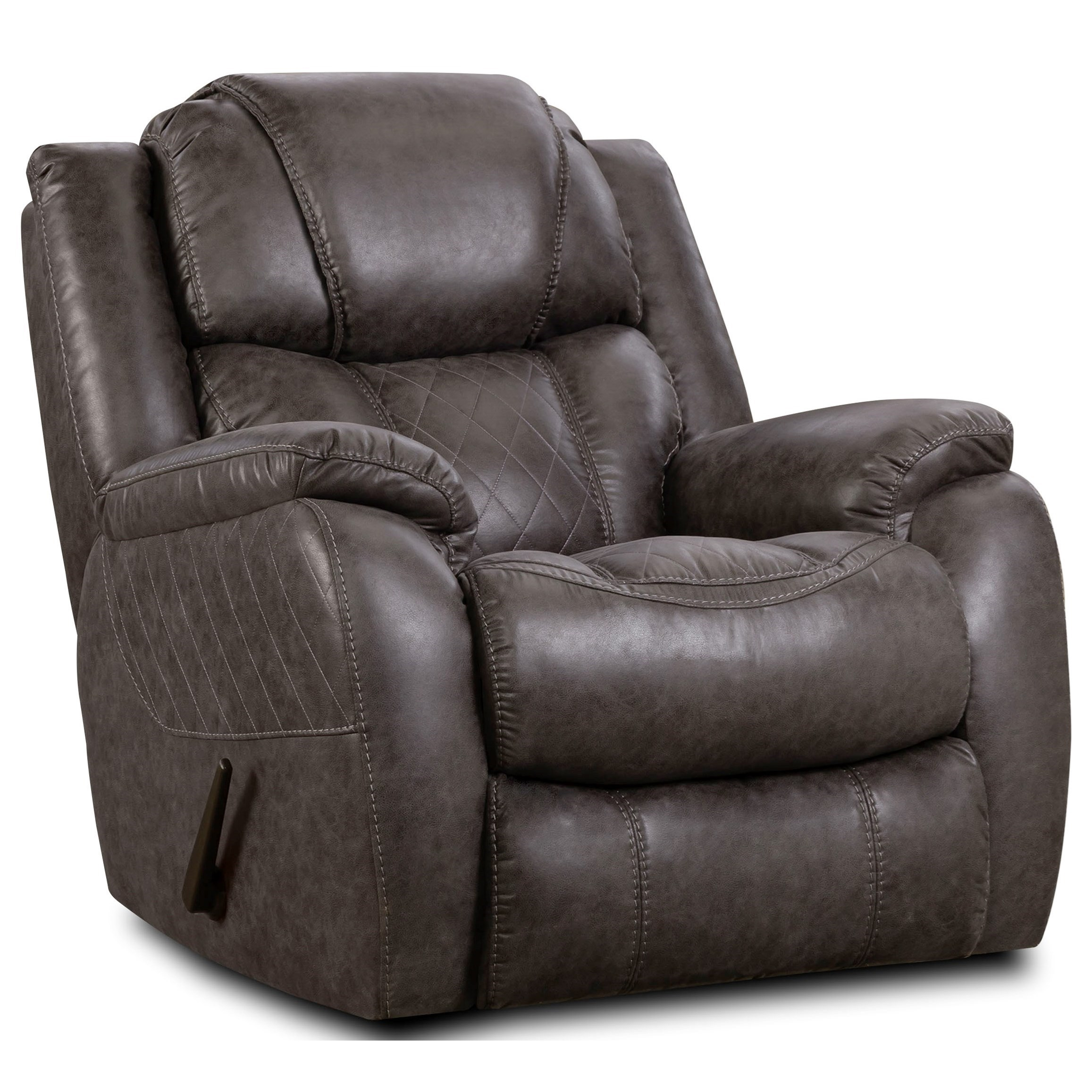 182 Rocker Recliner by HomeStretch at Westrich Furniture & Appliances