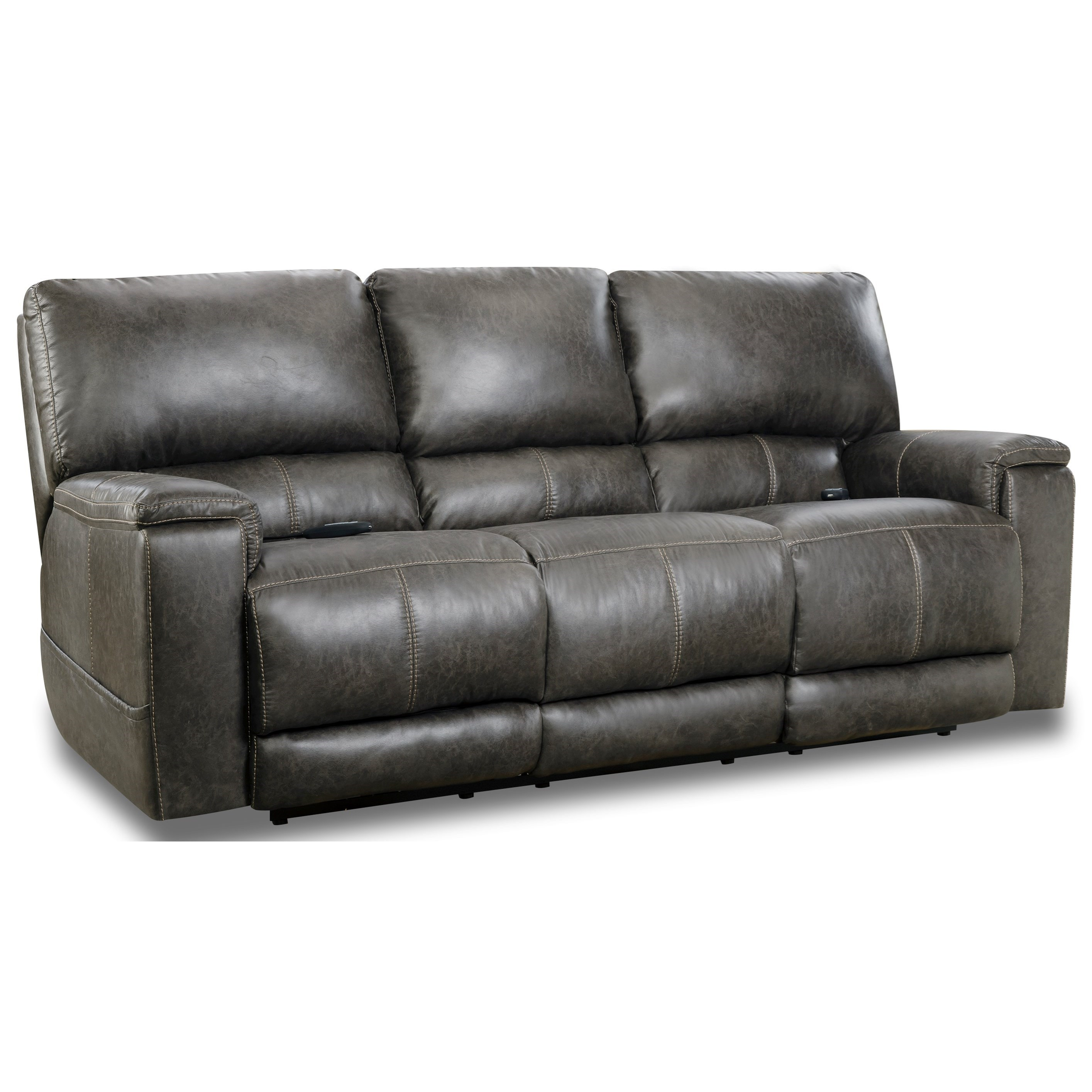 197 Collection Double Reclining Power Sofa  by HomeStretch at Bullard Furniture