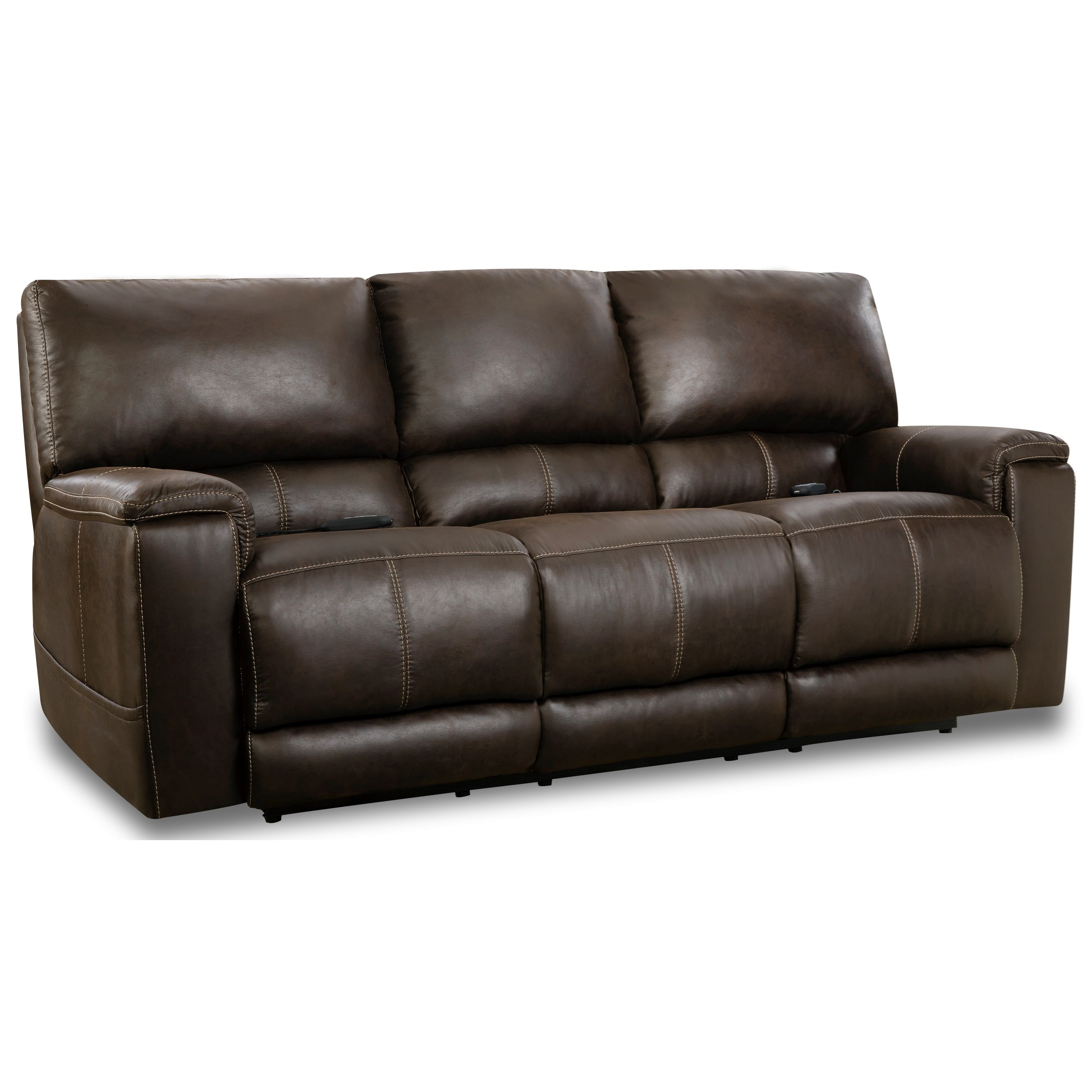 197 Collection Double Reclining Power Sofa  at Prime Brothers Furniture