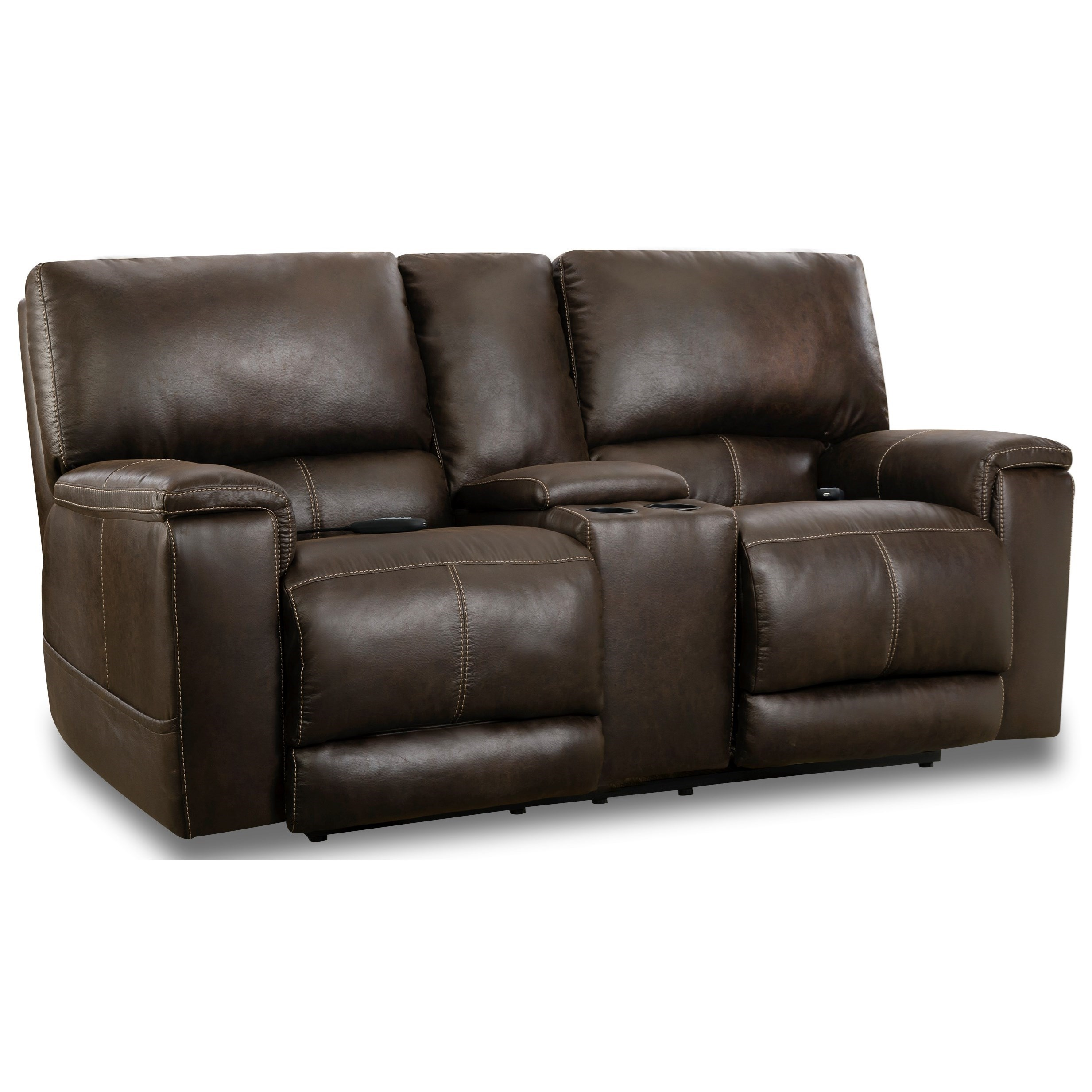 197 Collection Power Reclining Loveseat by HomeStretch at Gill Brothers Furniture