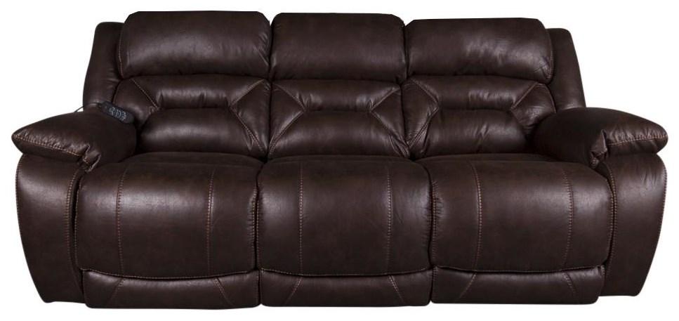 Arnette Arnette Power Reclining Sofa by HomeStretch at Morris Home