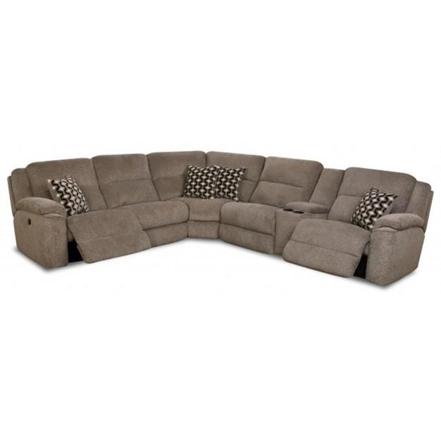 Catalina 162 Casual Power Reclining Sectional Sofa by HomeStretch at Rife's Home Furniture