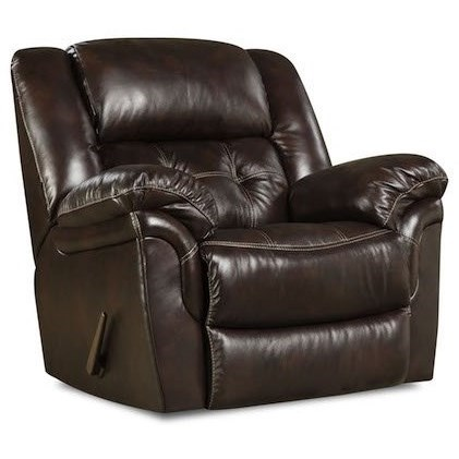 Cheyenne Power Rocker Recliner by HomeStretch at Rife's Home Furniture