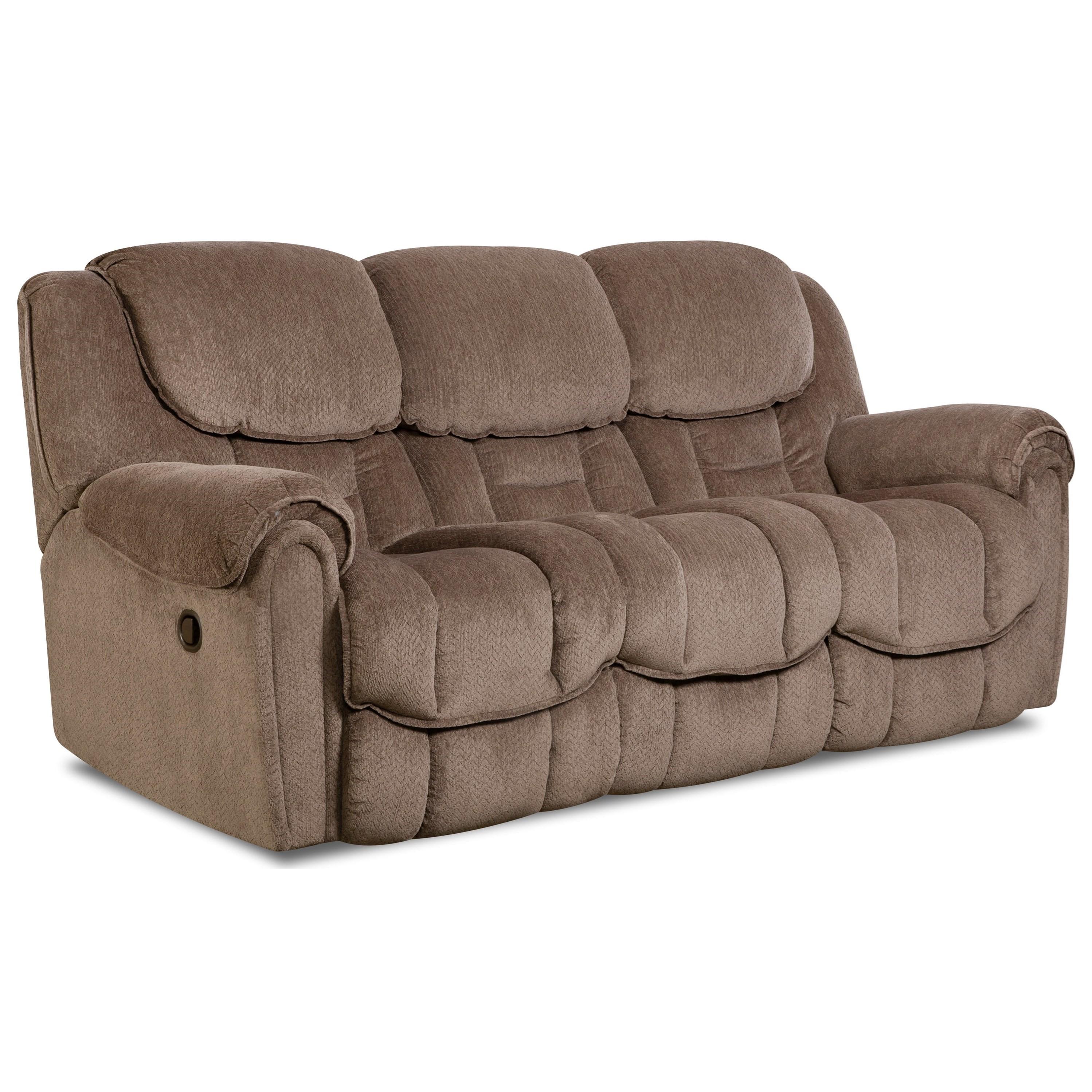 Del Mar 122 Double Reclining Sofa by HomeStretch at Johnny Janosik