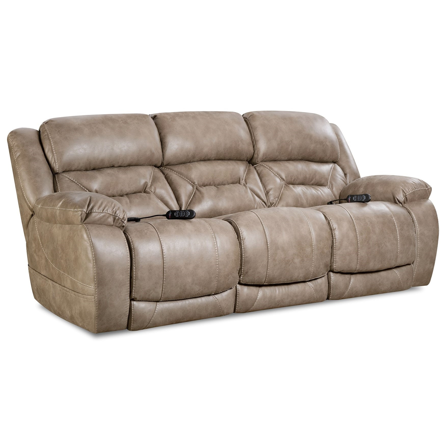 Enterprise Power Reclining Sofa by HomeStretch at Suburban Furniture
