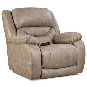 Power Recliner with Power Headrest & Lumbar