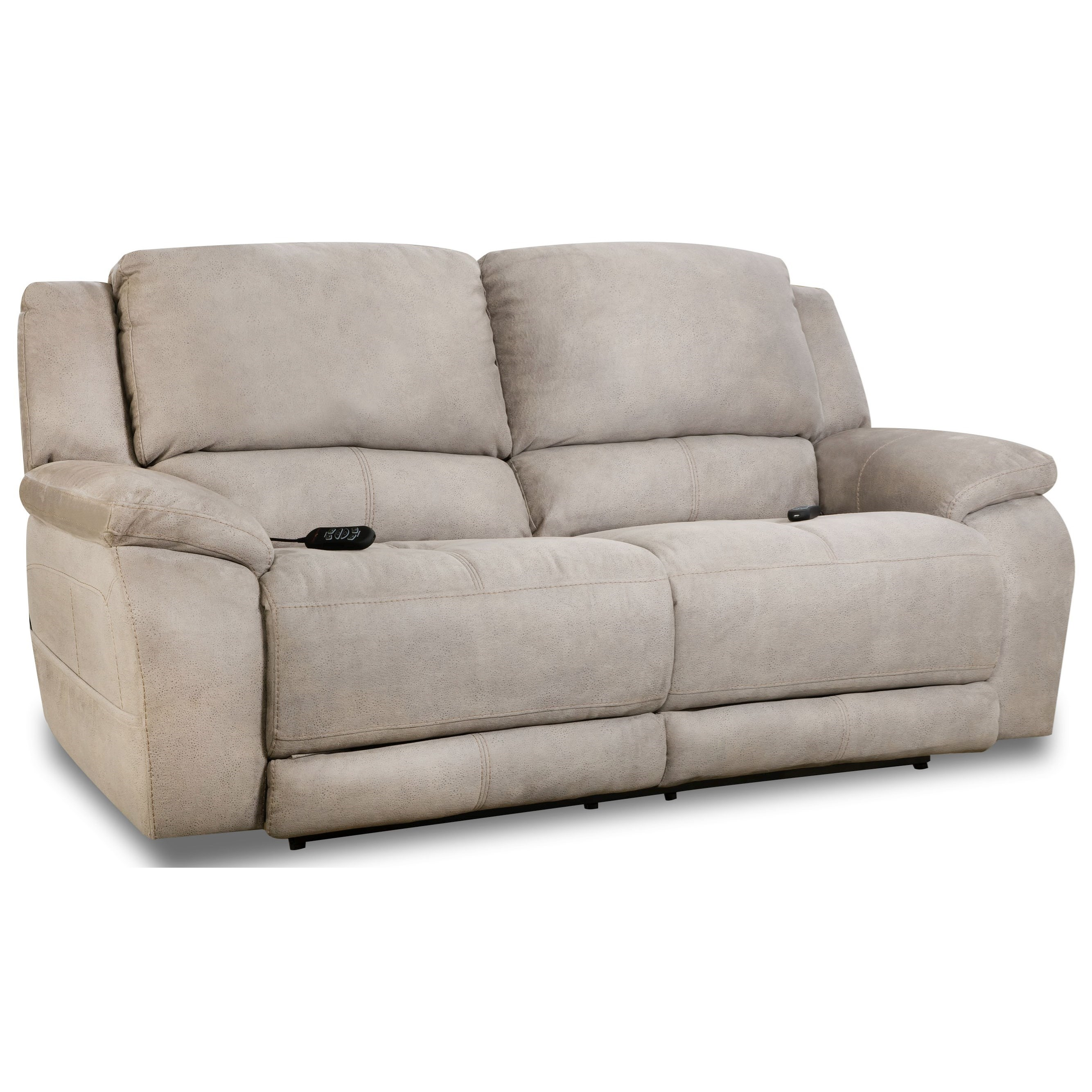 Explorer Double Reclining Sofa by HomeStretch at HomeWorld Furniture
