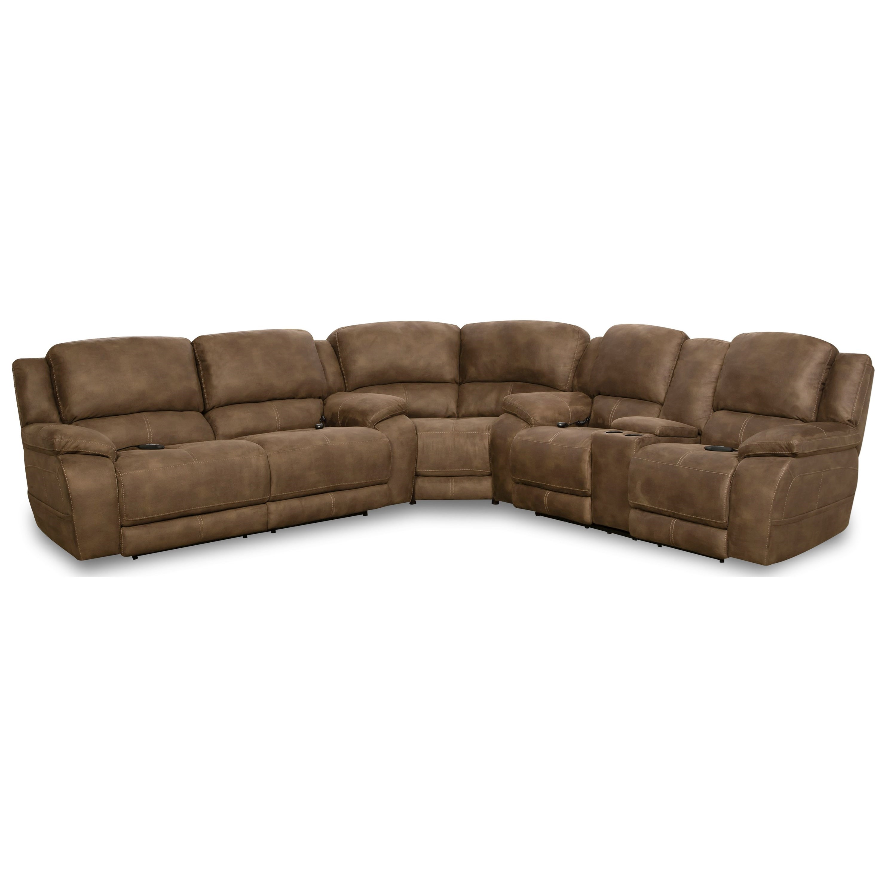Explorer Power Sectional by HomeStretch at Rife's Home Furniture