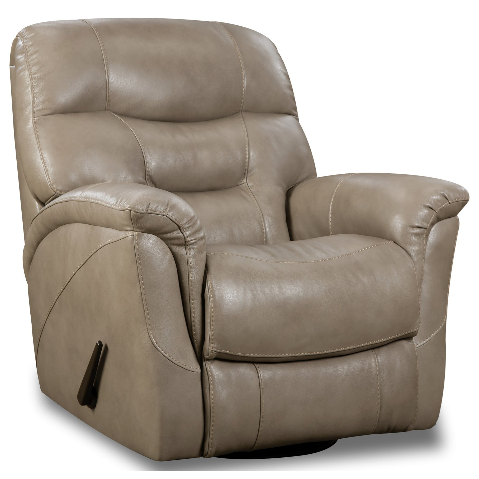 Merino Swivel Glider Recliner by HomeStretch at Gill Brothers Furniture