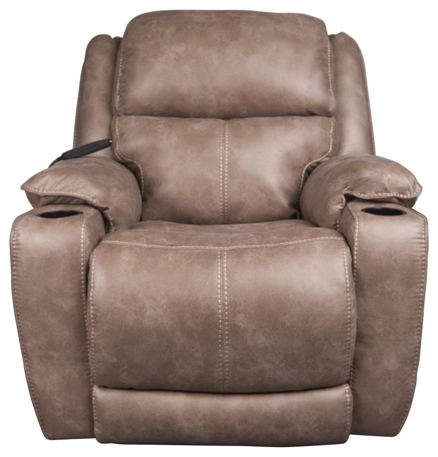 Raney Raney Power Recliner w/ Power Headrest by HomeStretch at Morris Home