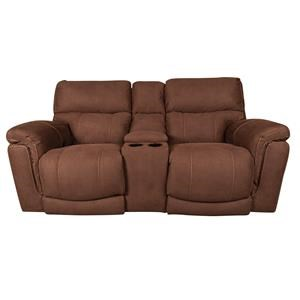 Power Loveseat with USB / Lumbar and Headrest