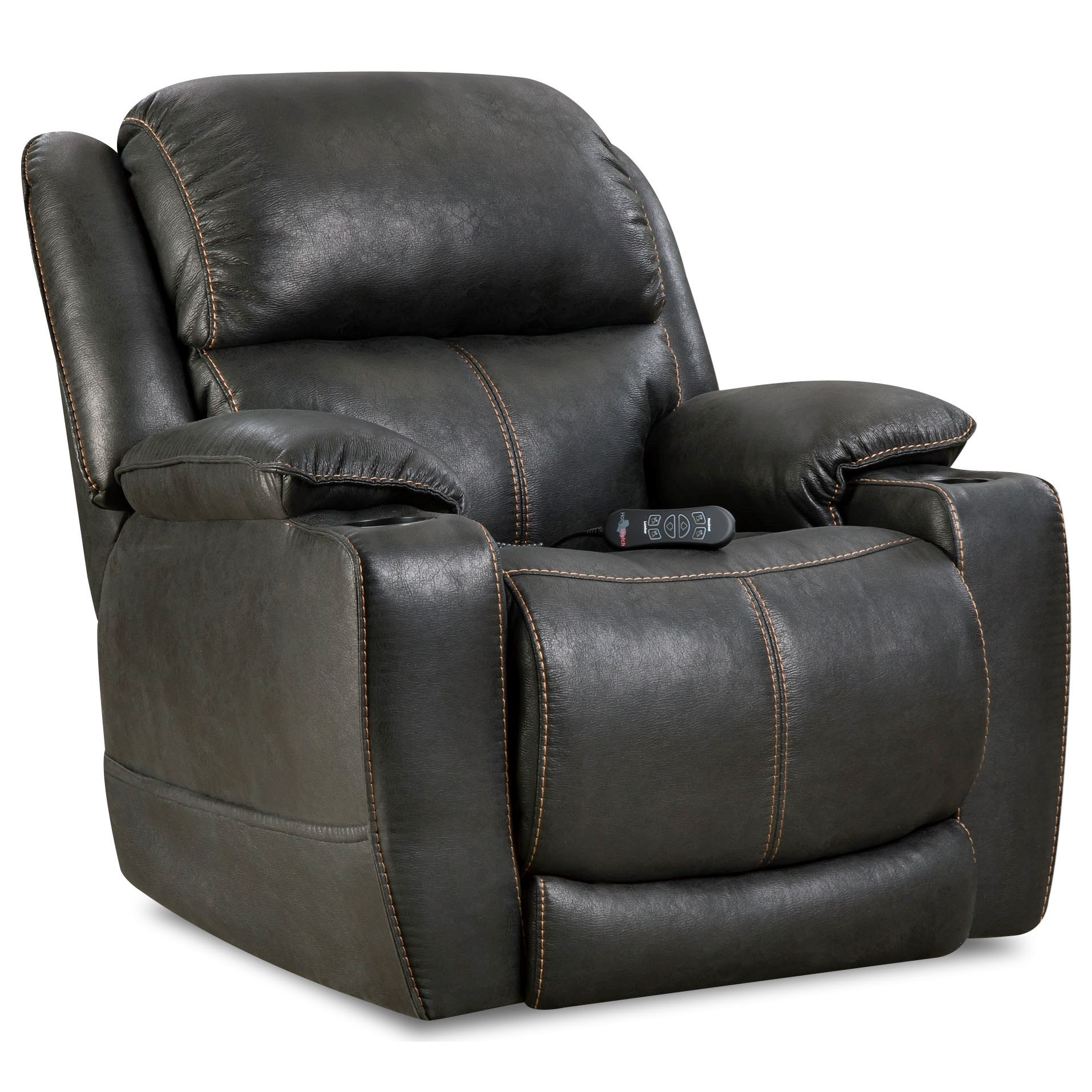 Starship Recliner by HomeStretch at HomeWorld Furniture