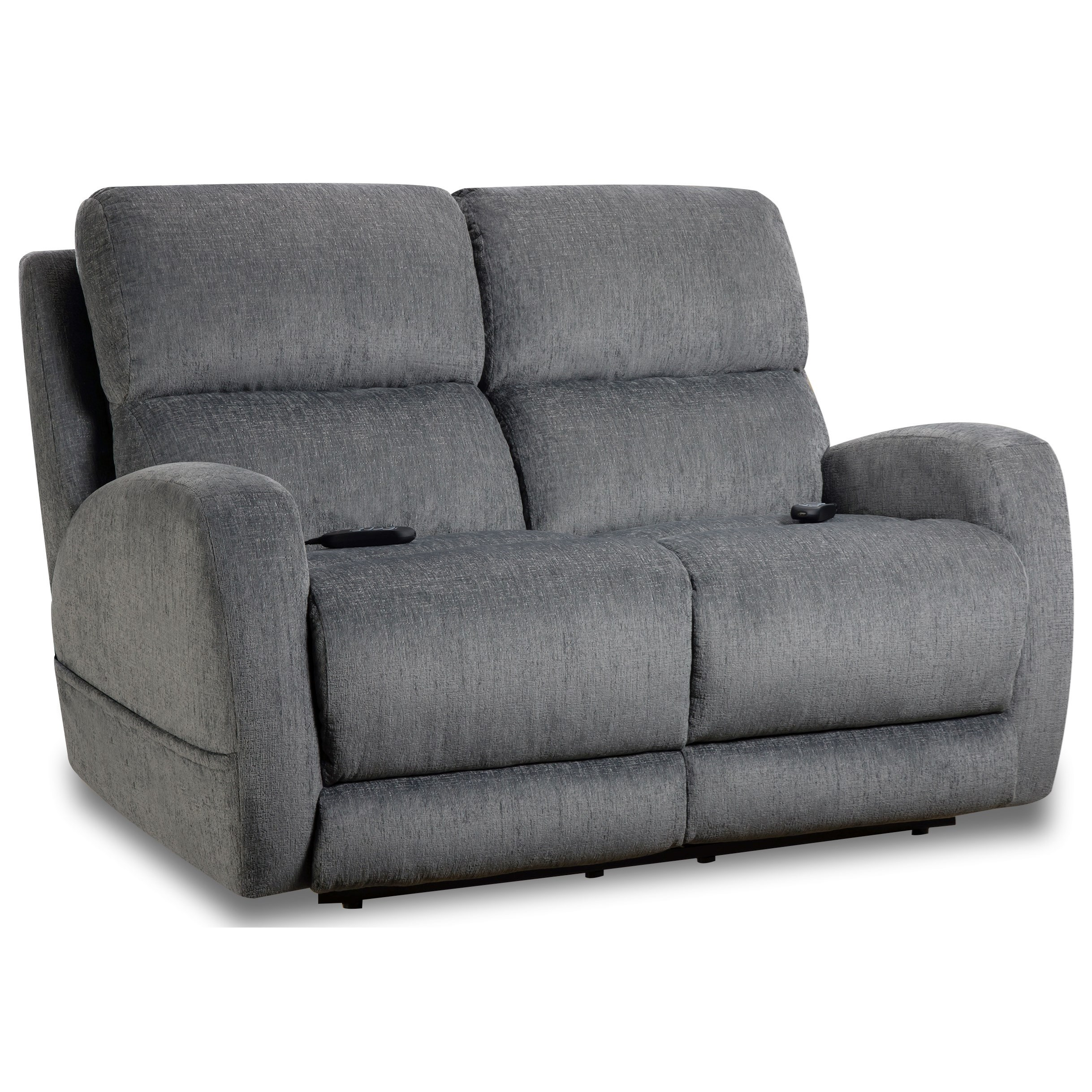 Sterling Power Loveseat by HomeStretch at Darvin Furniture