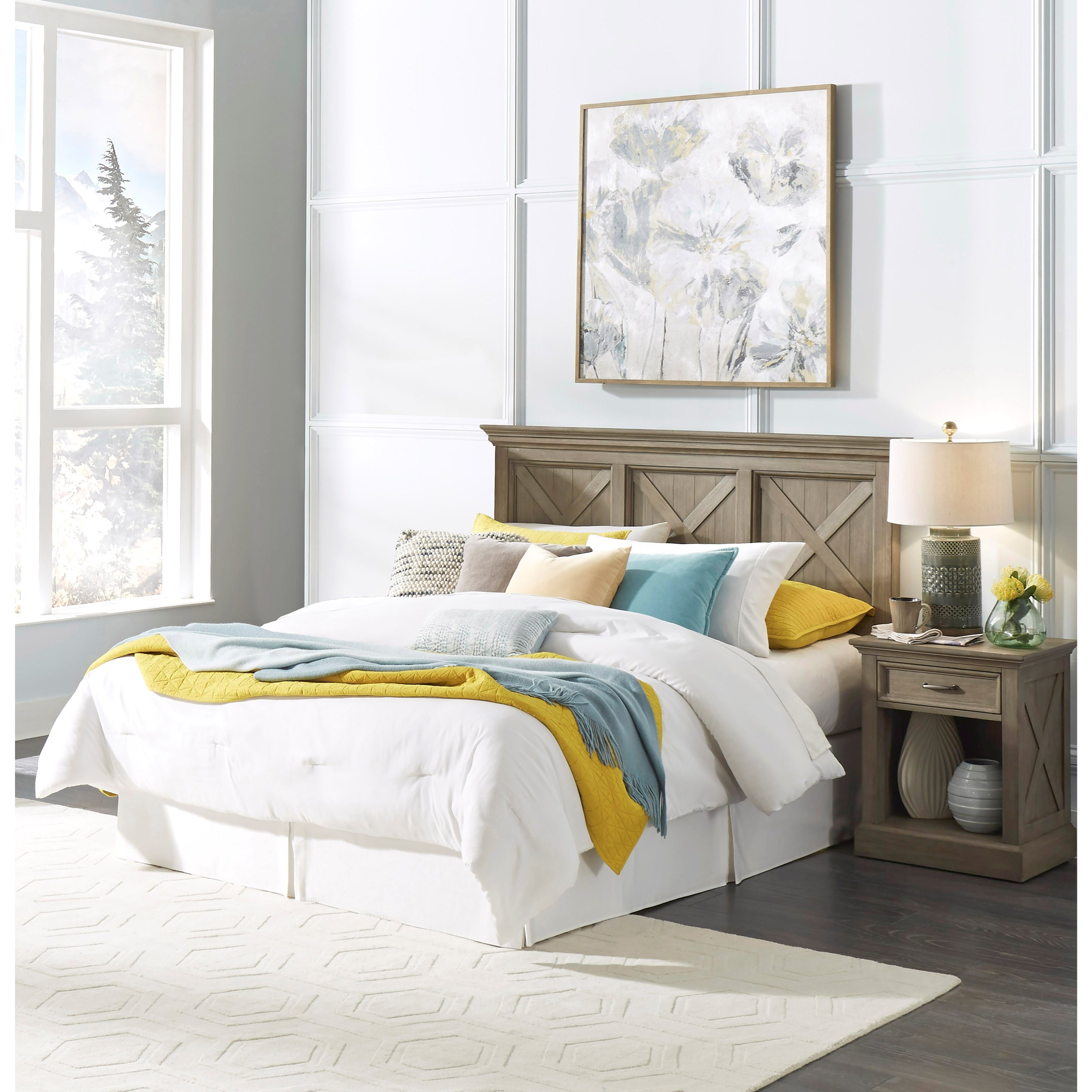 Mountain Lodge Queen Bedroom Group by Homestyles at Suburban Furniture