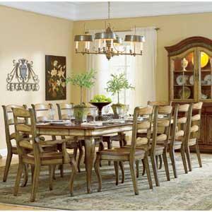 Hooker Furniture Vineyard Rectangle Dining Table
