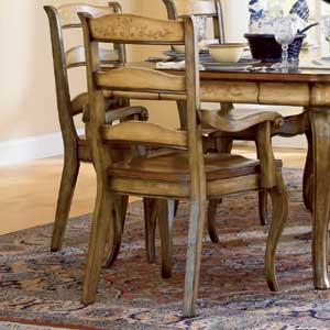 Hooker Furniture Vineyard Ladderback Arm Chair