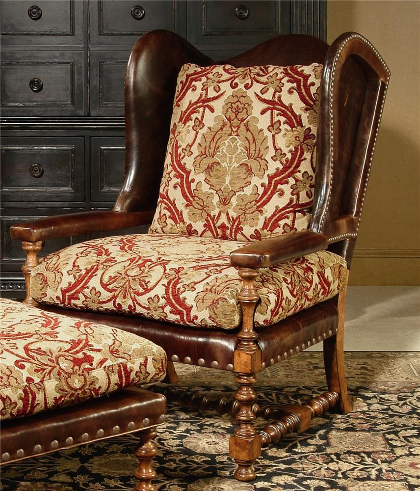 Century Chair Cadbury Wing Chair by Century at Baer's Furniture