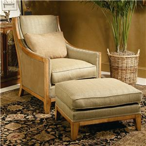 Century Century Chair Svelte Chair and Ottoman