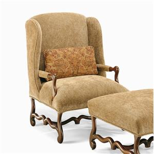 Century Century Chair Confessional Wing Chair