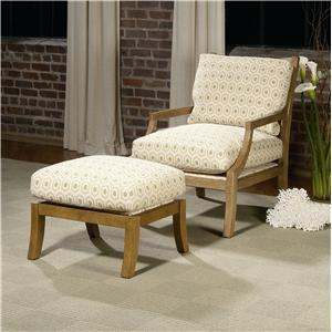Century Century Chair Clancy Chair and Ottoman
