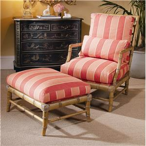 Century Century Chair Biscayne Chair and Ottoman