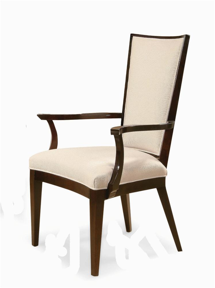 Century Chair Edison Upholstered Arm Chair by Century at Alison Craig Home Furnishings