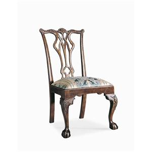 Century Century Chair Pierced Back and Arm Chair