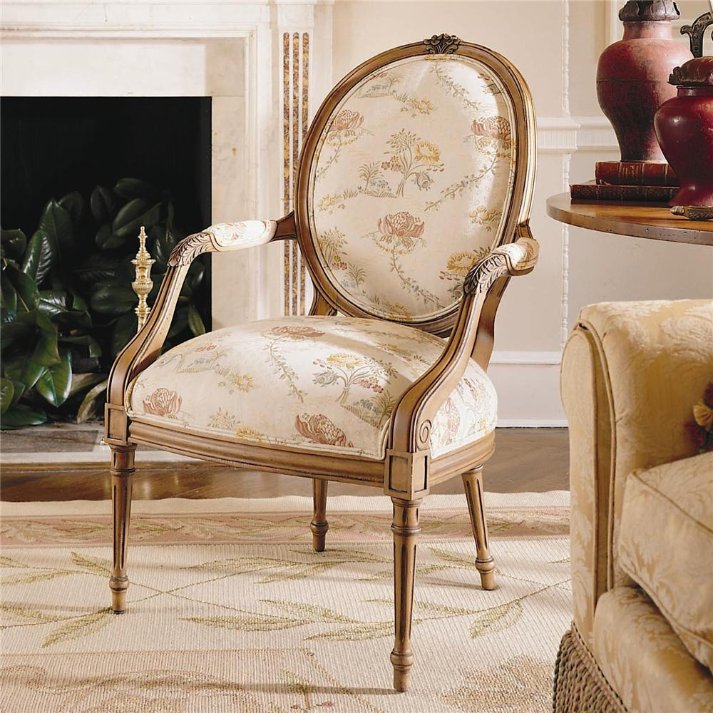 Century Chair Louis IV Fauteuil Chair by Century at Baer's Furniture