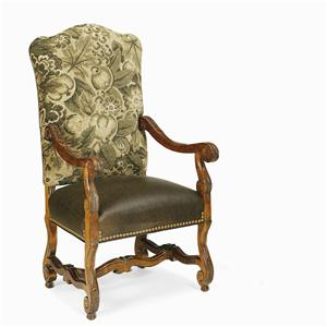 Century Century Chair Amelia Upholstered Back Arm Chair