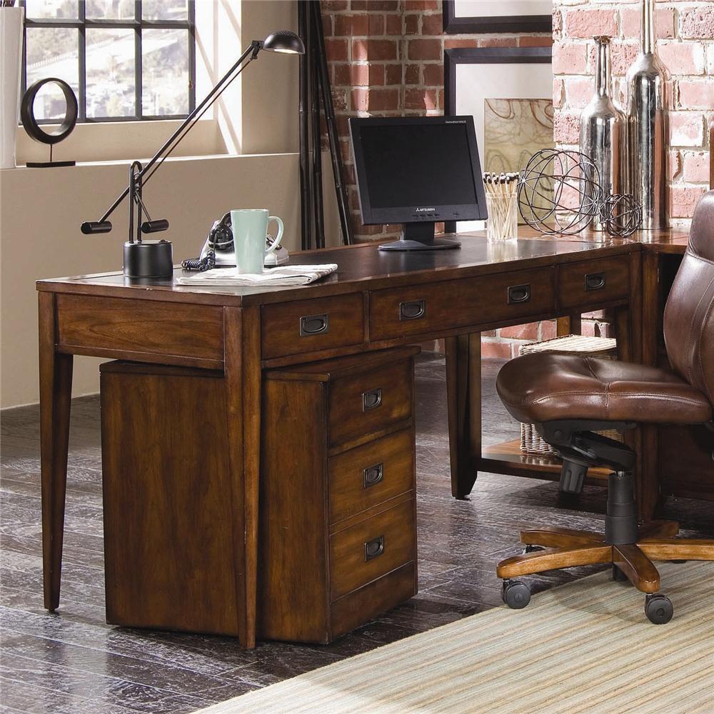 Danforth Table Desk by Hooker Furniture at Zak's Home