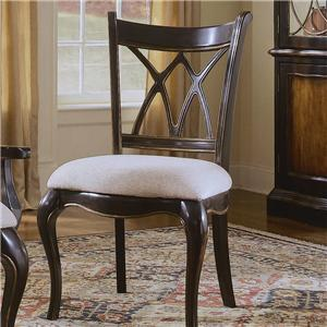 Hooker Furniture Preston Ridge X Back Side Dining Chair