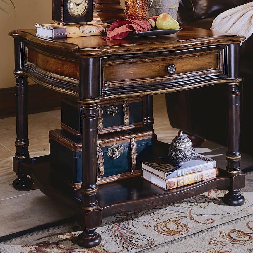 Preston Ridge Lamp Table by Hooker Furniture at Zak's Home