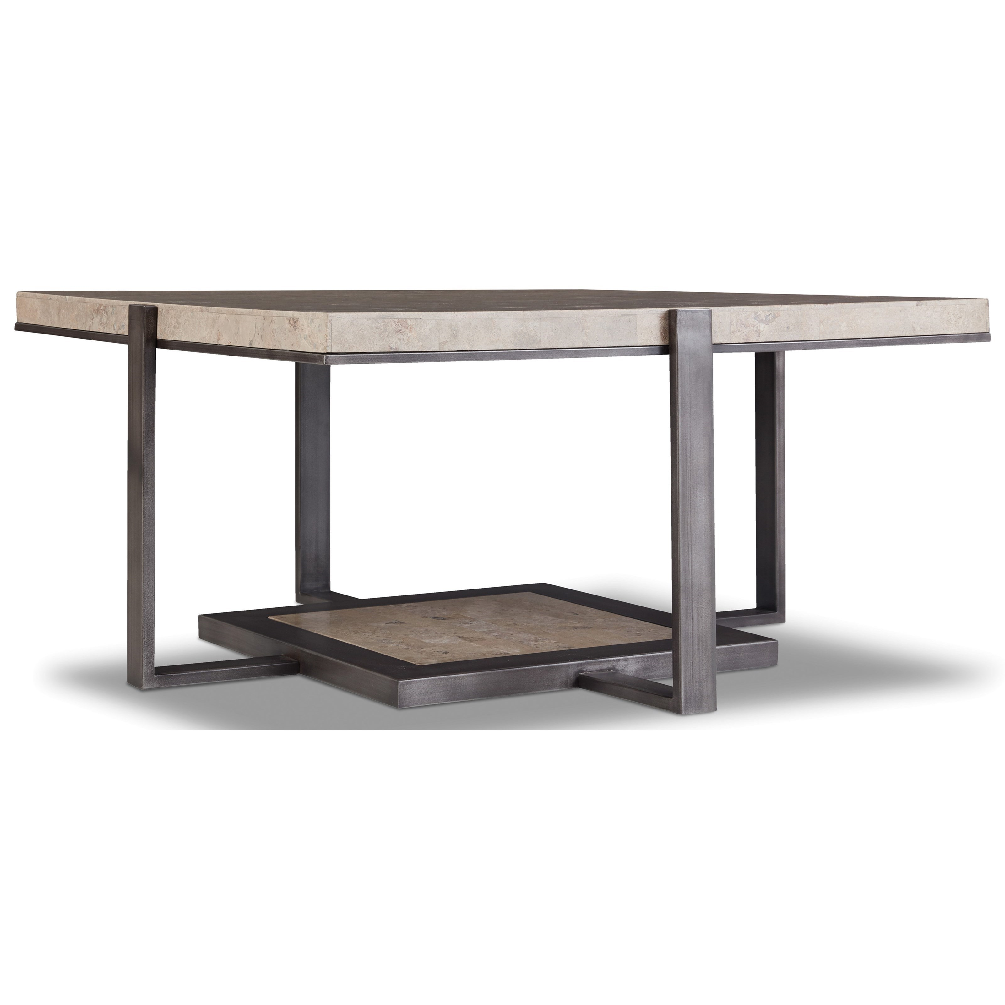 5533 Square Cocktail Table by Hooker Furniture at Jacksonville Furniture Mart