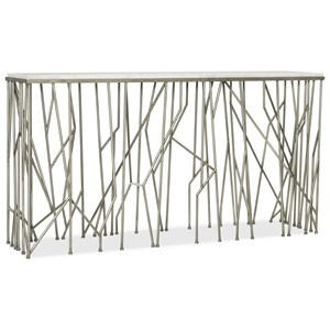 Contemporary Thicket Console with Marbe Top