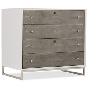 Contemporary Lateral File with Locking Drawers