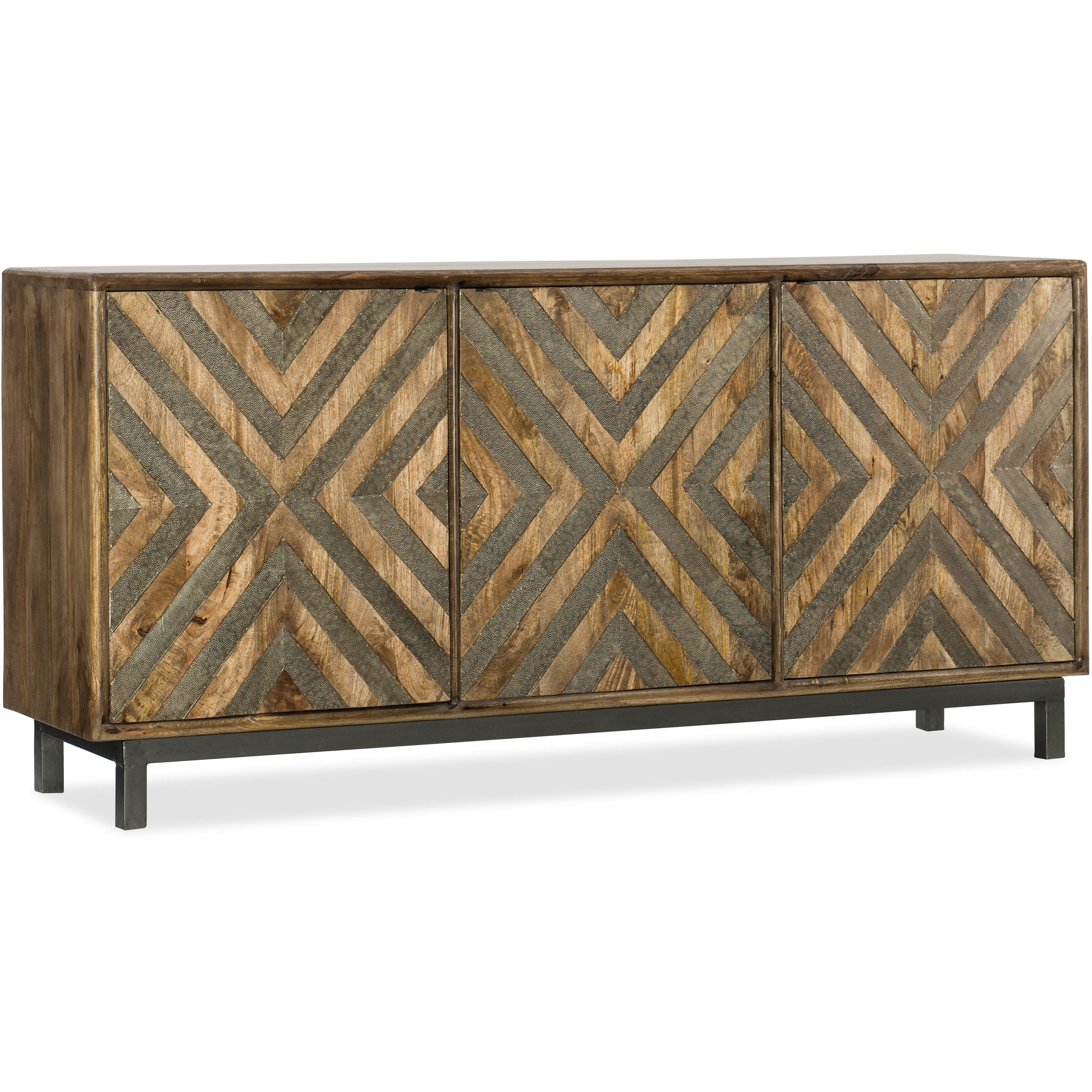 5649-55 Serramonte Entertainment/Accent Console by Hooker Furniture at Lindy's Furniture Company