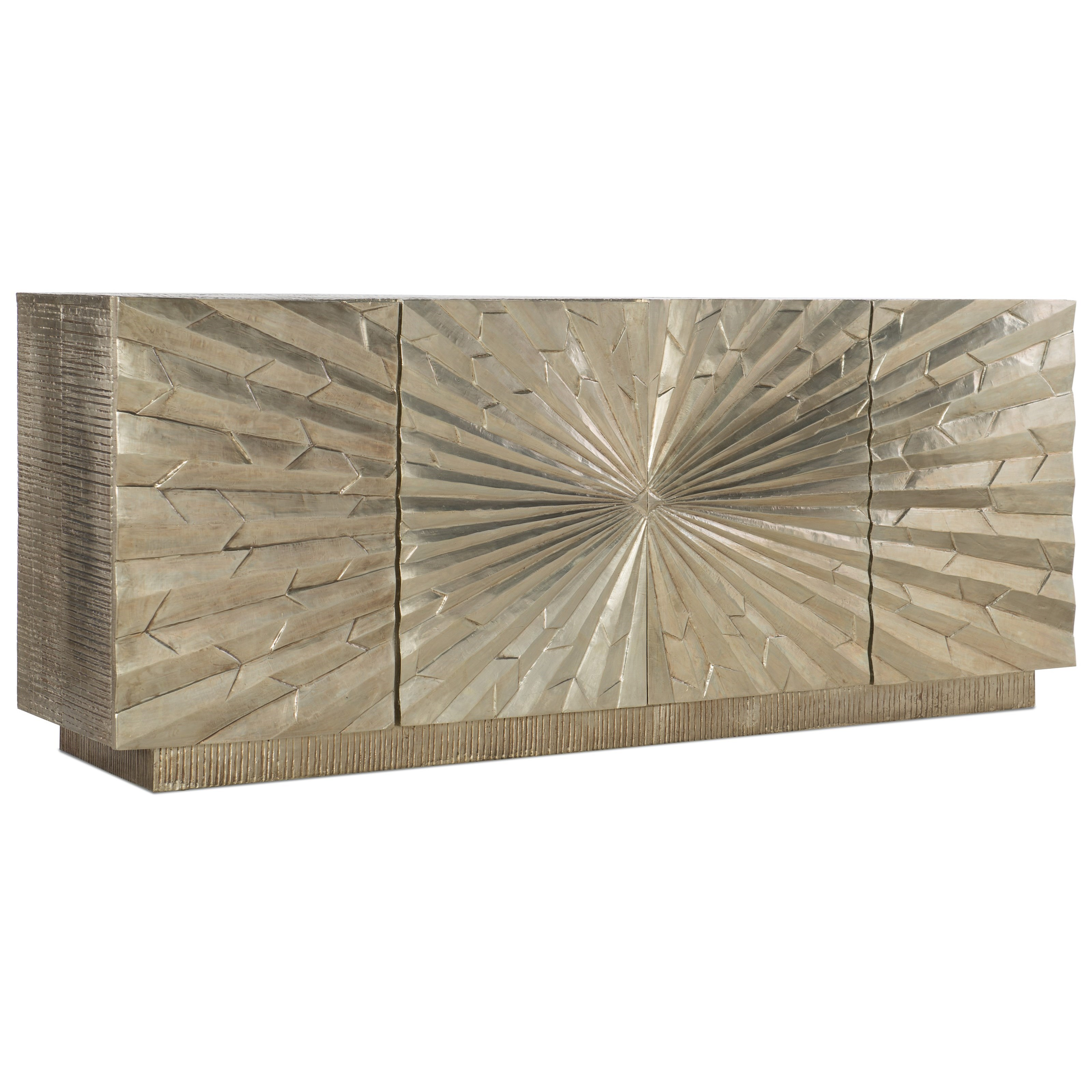 "5667-55 Big Bang 78"" Entertainment Console by Hooker Furniture at Stuckey Furniture"