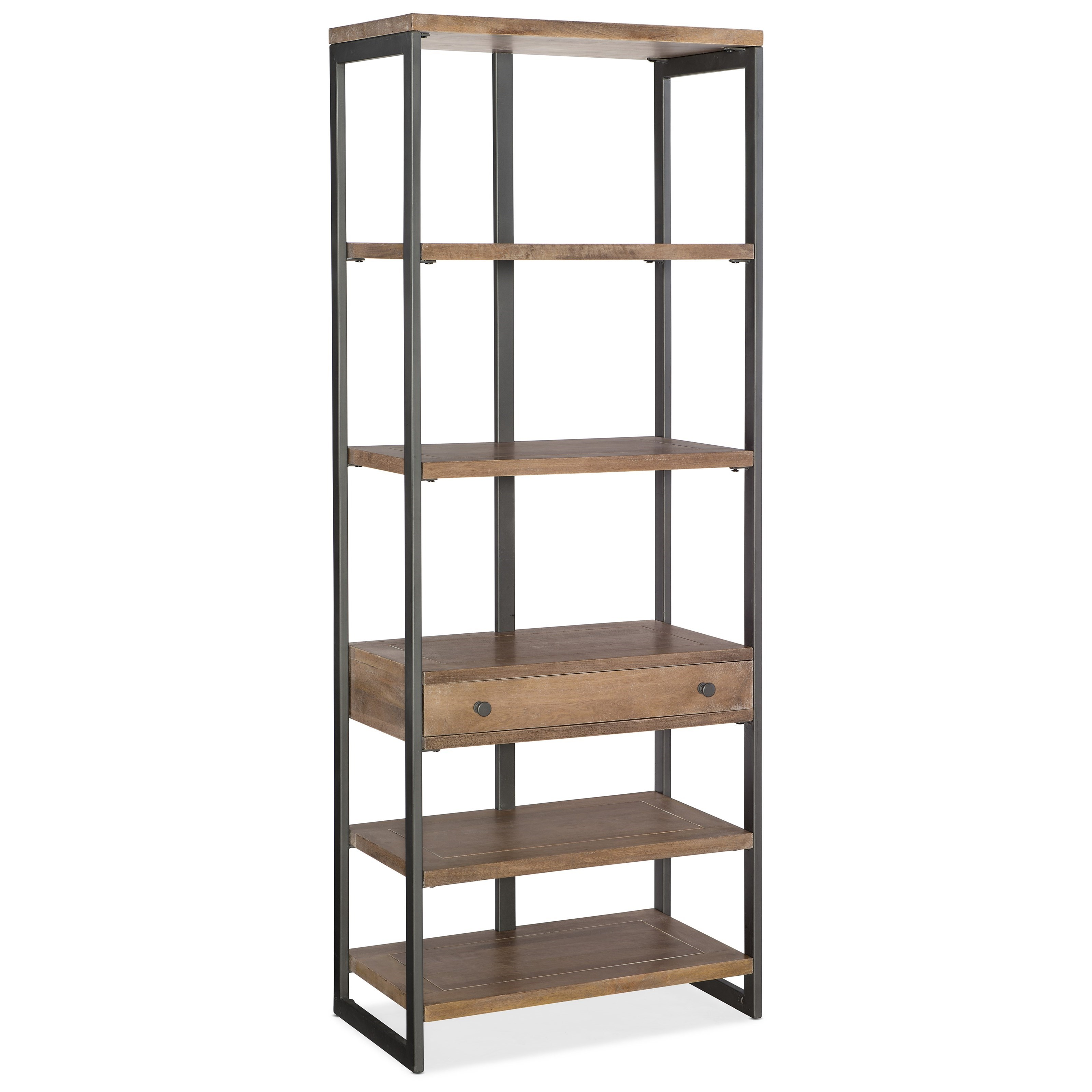 5681-10 Bookcase by Hooker Furniture at Esprit Decor Home Furnishings