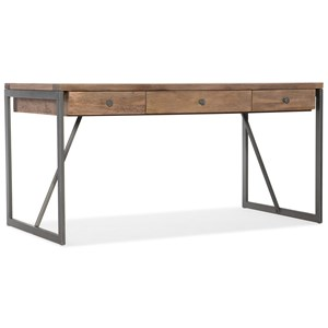 Industrial Style Metal/Wood Writing Desk