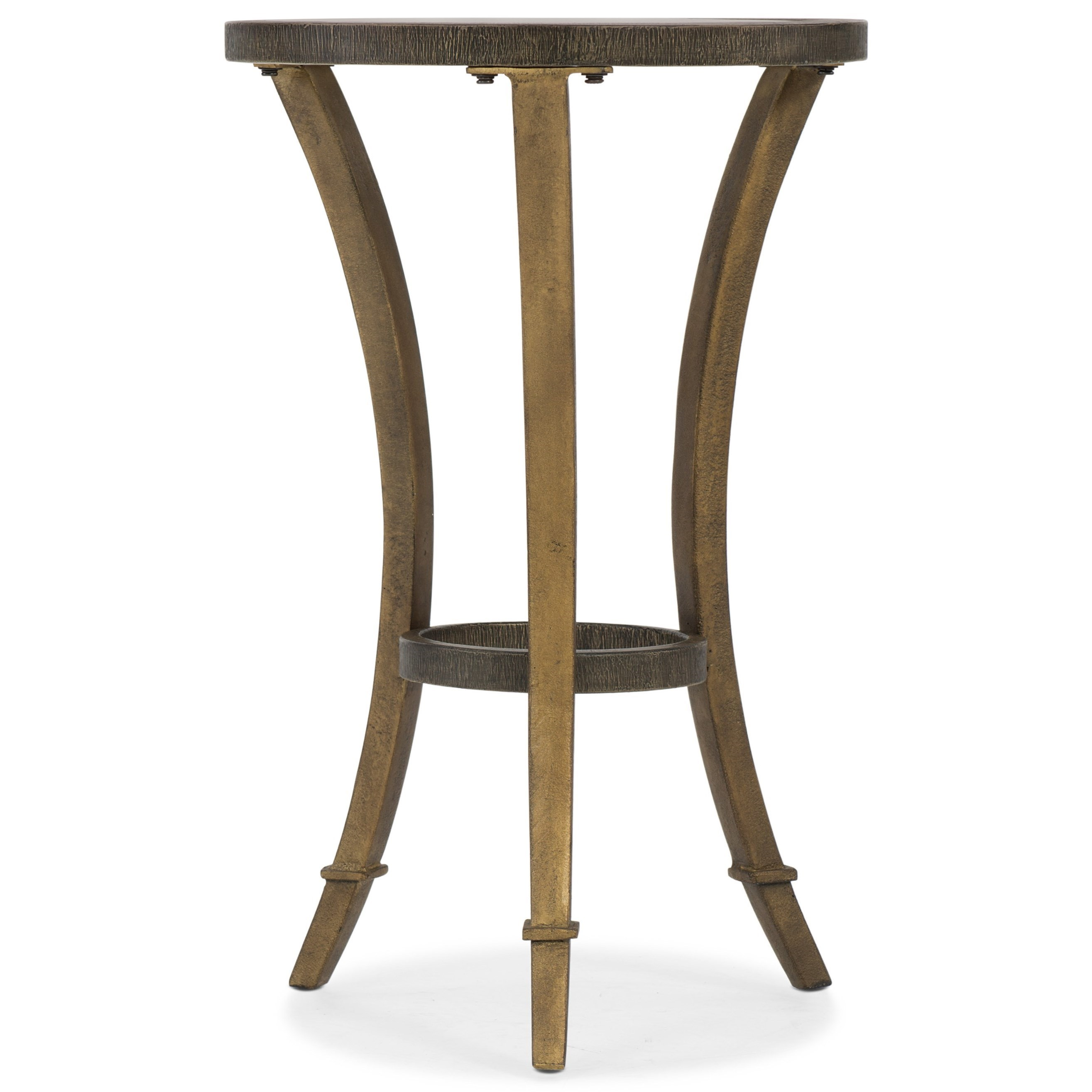 6080-50 Round Accent Martini Table by Hooker Furniture at Lagniappe Home Store