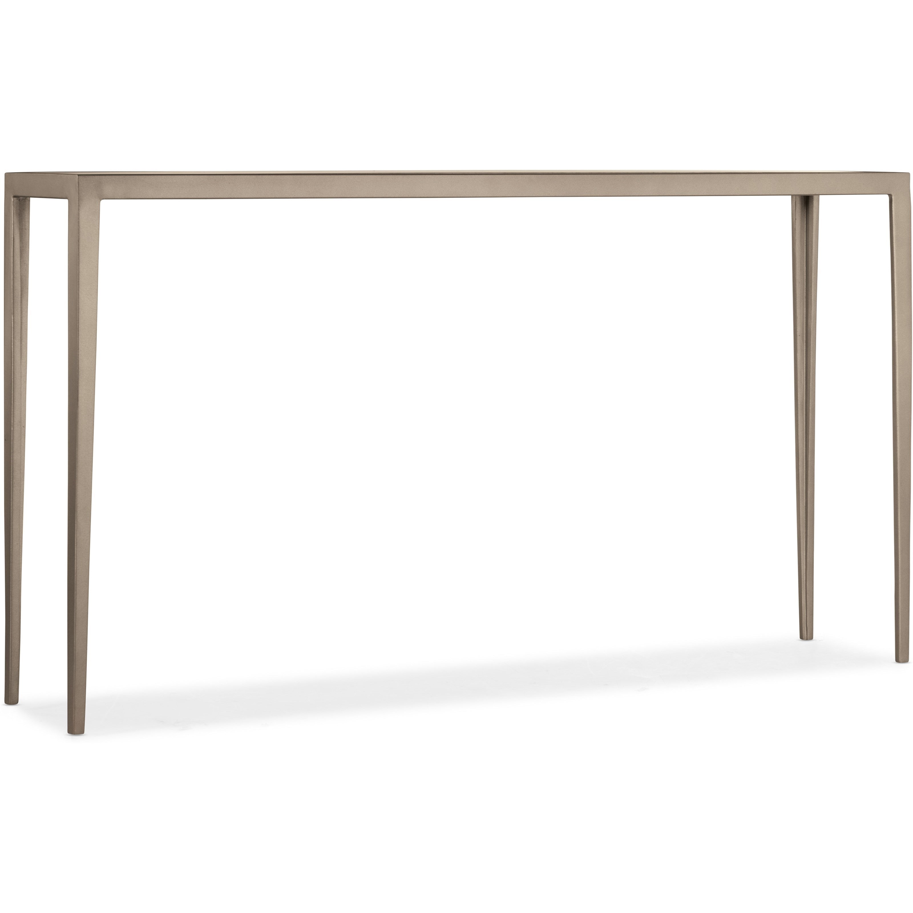 6305 White Venetian Marble Console Table by Hooker Furniture at Zak's Home