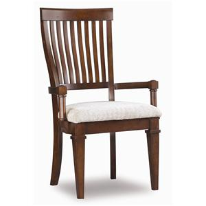 Hooker Furniture Abbott Place Slat Back Arm Chair