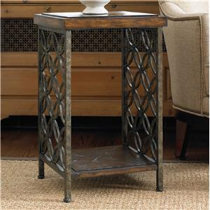 Hooker Furniture Living Room Accents Square Accent Table