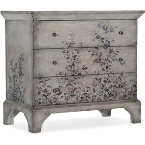 Transitional 3-Drawer Accent Chest