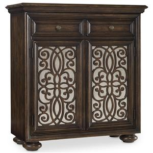 Hooker Furniture Living Room Accents 2 Door Fretwork Chest