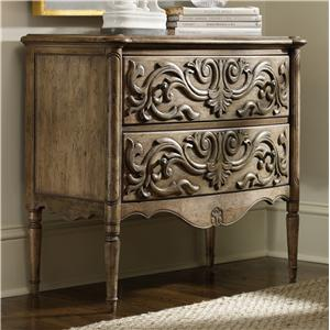 Hooker Furniture Living Room Accents Carved Front Chest