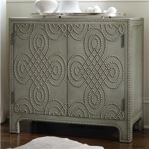 Hooker Furniture Living Room Accents 2 Door Nailhead Chest