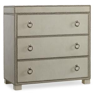 Hooker Furniture Living Room Accents 3 Drawer Chest