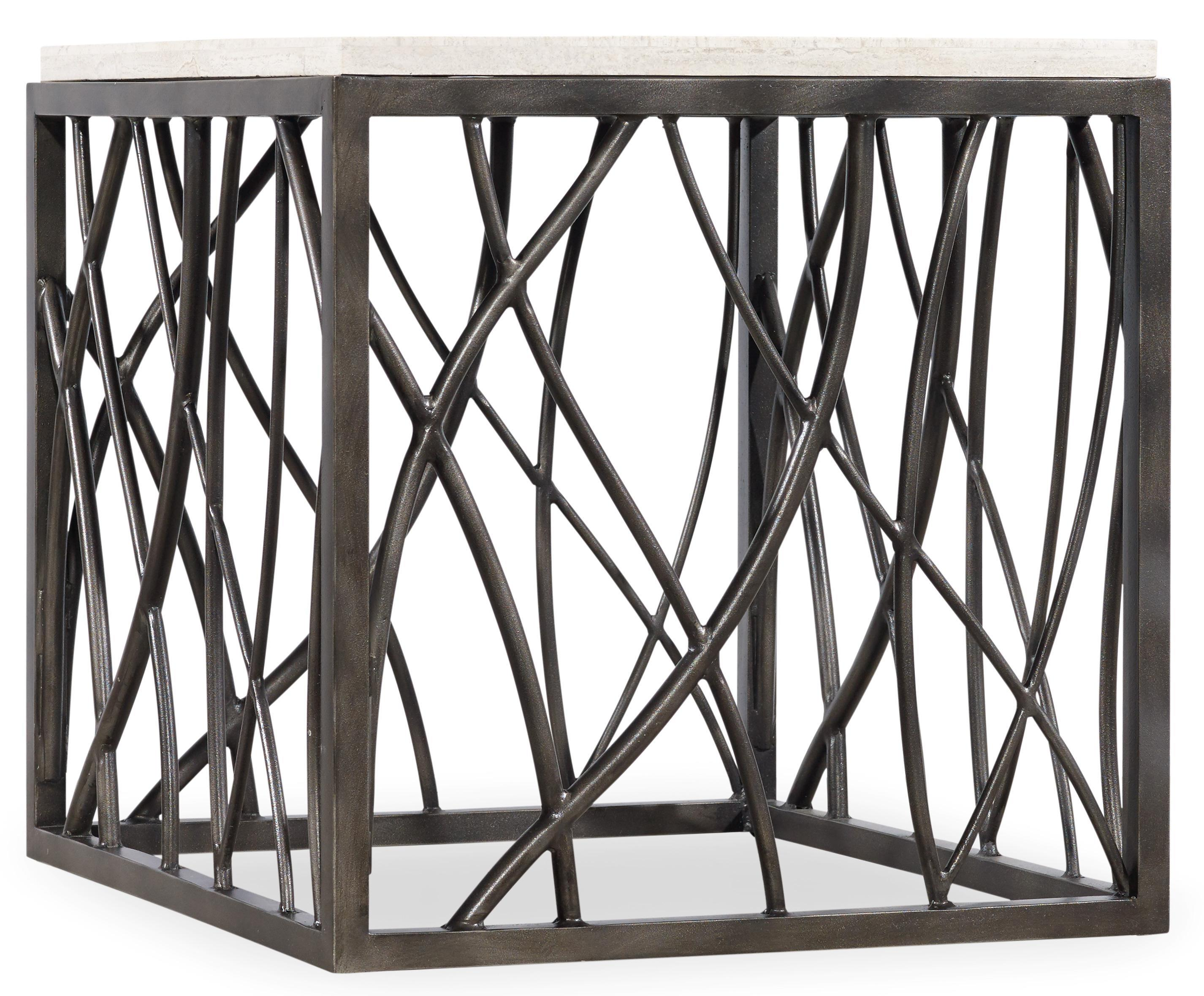 Living Room Accents End Table by Hooker Furniture at Miller Waldrop Furniture and Decor