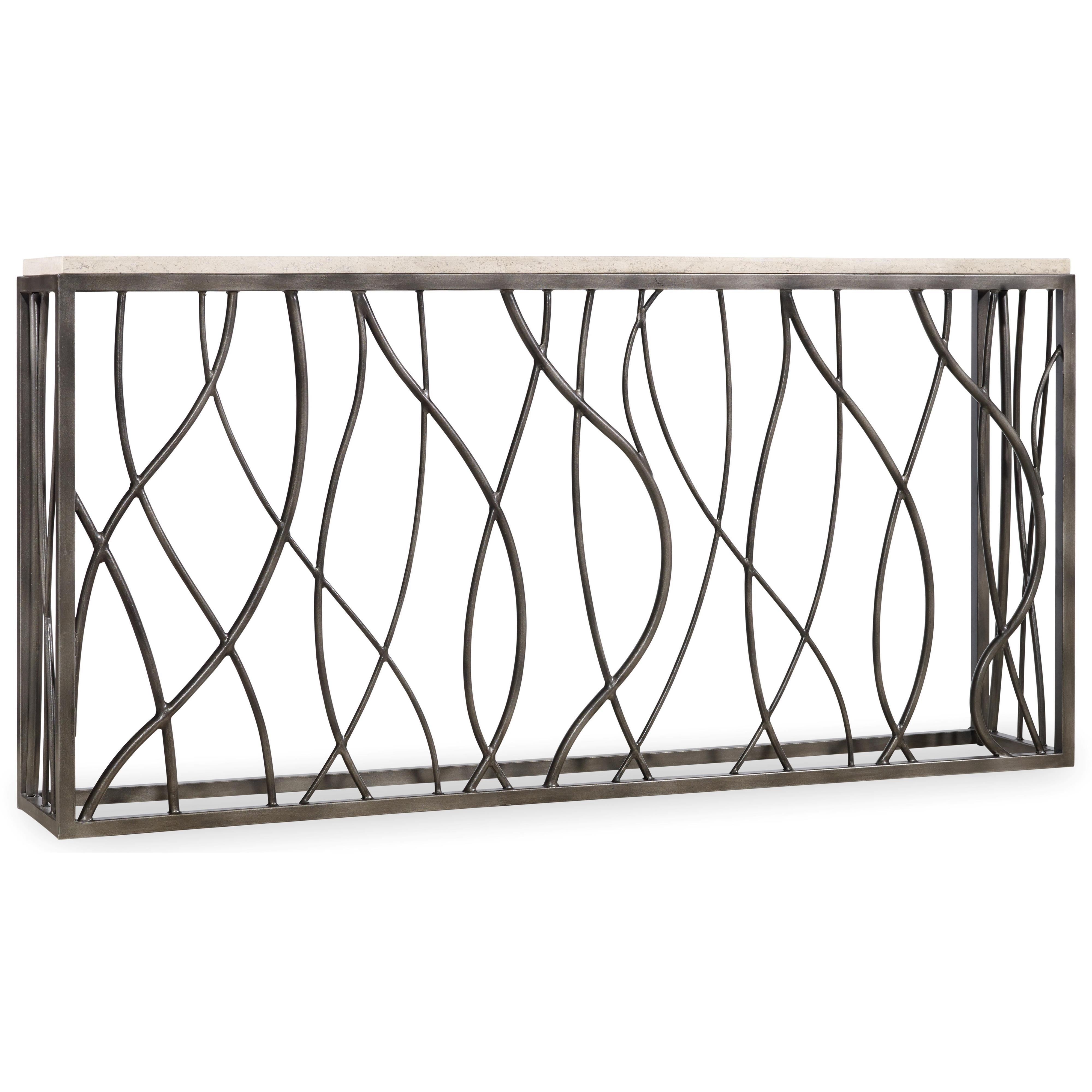 Living Room Accents Console Table by Hooker Furniture at Miller Waldrop Furniture and Decor